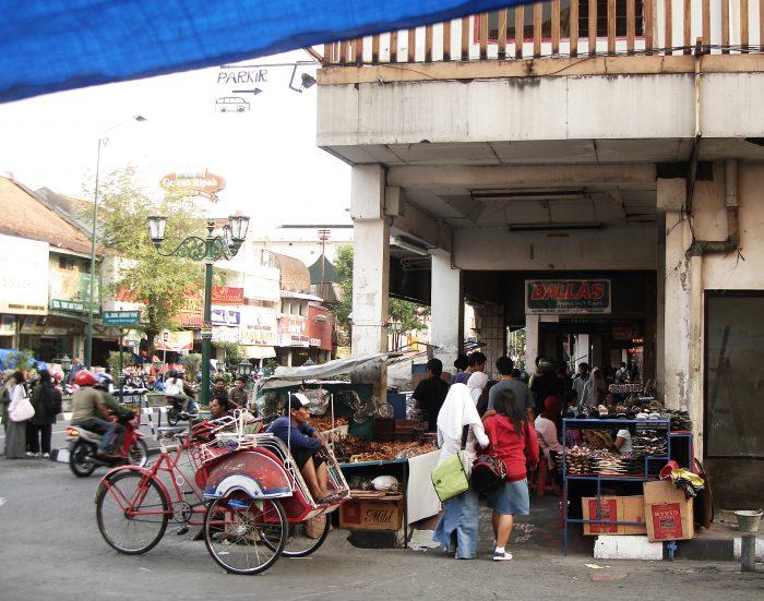 Batik Shopping Coridor