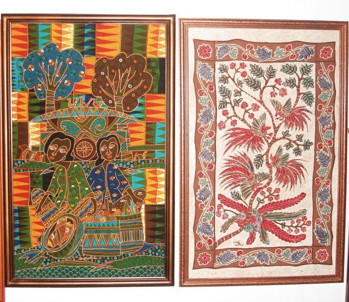 Hand Drawn Batik Art