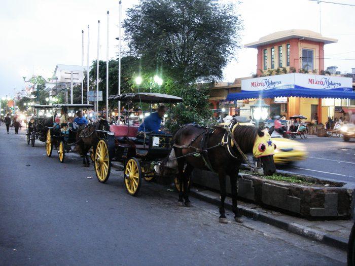 Jogjakarta city Street