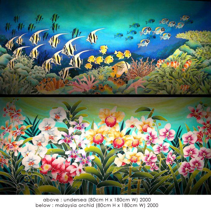 lim anuar batik painting