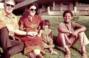 Ann Dunham with her father Stanley DOC11